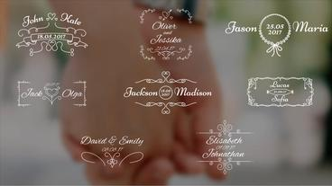 8 Wedding Titles Premiere Pro Template