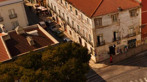 Alfama, Lisbon, Portugal Footage