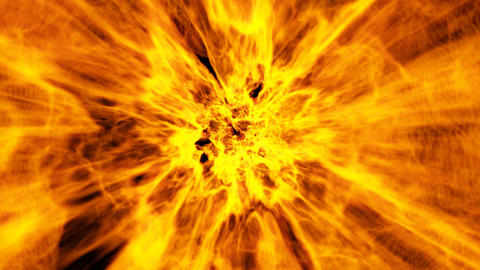 Abstract Fire Tunnel Stock Video Footage