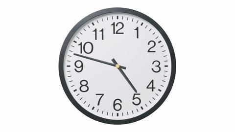 Clock Time Lapse CG動画素材