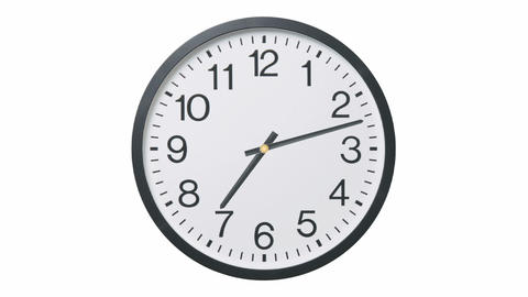 Clock Time Lapse Stock Video Footage