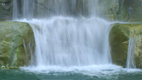 Waterfall Close-up Footage