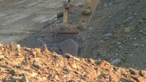 Excavator Bucket Footage