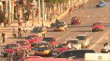 Time-lapse heavy beijing traffic Footage