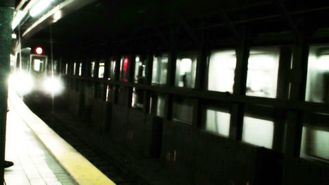 1016 New York Subway Stock Video Footage