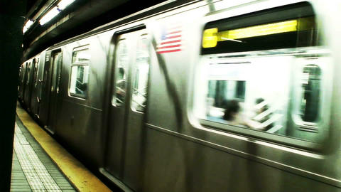 1016 New York Subway ビデオ