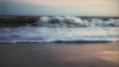 1007 Beach Dawn Stock Video Footage