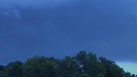 Storm Clouds Time-Lapse Stock Video Footage
