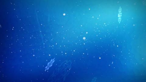 1052 Holiday Spirit Winter Snow Loop Stock Video Footage