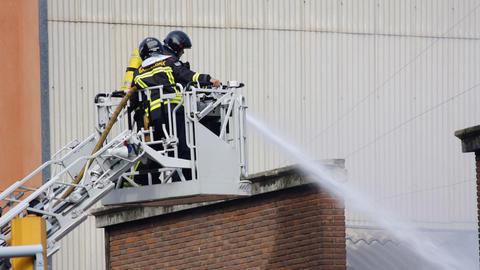 barcelona firemen00 Footage
