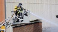 Barcelona Firemen00 stock footage