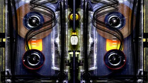 cassette rwd10 Stock Video Footage
