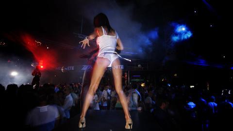 ibiza dancer00 Stock Video Footage
