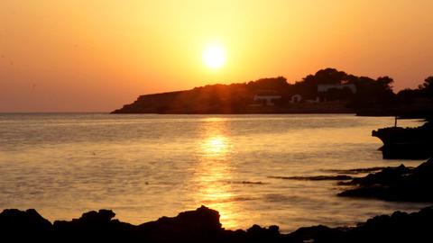 ibiza sunset00 Stock Video Footage