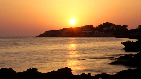 Ibiza Sunset00 stock footage