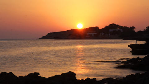 ibiza sunset00 Stock Video Footage