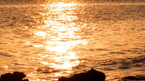 ibiza sunset04 Stock Video Footage