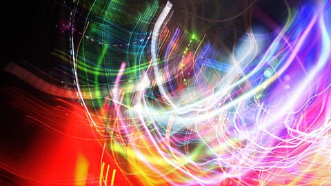 kazantip crazy lights01 Stock Video Footage