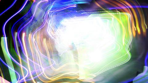 kazantip crazy lights03 Stock Video Footage