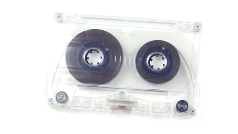 moving cassette02 Stock Video Footage