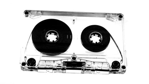 moving cassette07 Footage