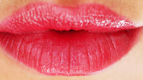 seanna lips3 Stock Video Footage