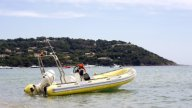 Rescue Boat00 stock footage