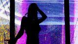 Ibiza Dancer09 stock footage