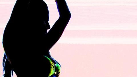 ibiza dancer11 Stock Video Footage