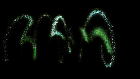 Spiral Particles : VJ Loop HD 377 Stock Video Footage
