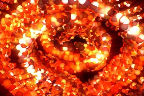 3D Spiral : VJ Loop 330 Stock Video Footage