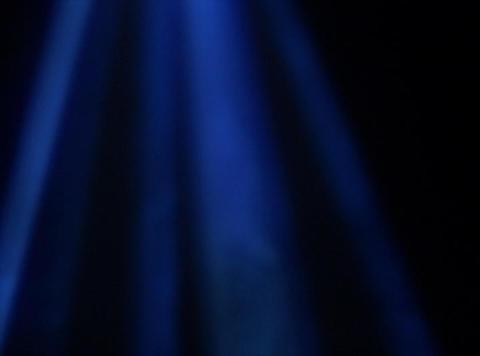 Aurora Blue : VJ Loop 339 Stock Video Footage