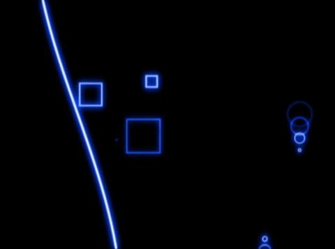 Blue Lines : VJLoop 023 Stock Video Footage