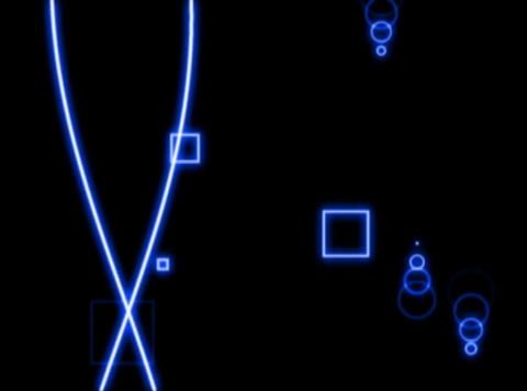 Blue Lines : VJLoop 023 Animation