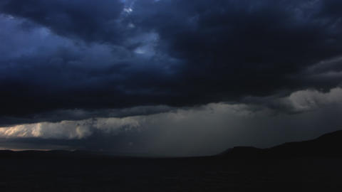 Timelapse sky, clouds Stock Video Footage