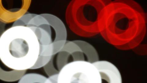 Car lights Stock Video Footage