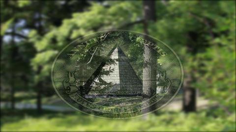 pyramid Stock Video Footage