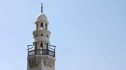 minaret of Bahrain mosque Footage