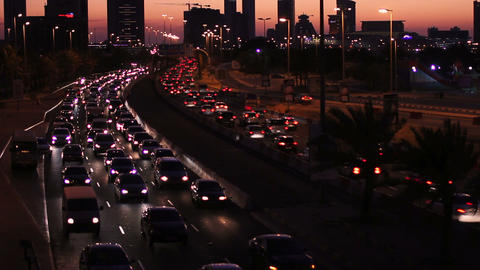sunset timelapse in bahrain Stock Video Footage