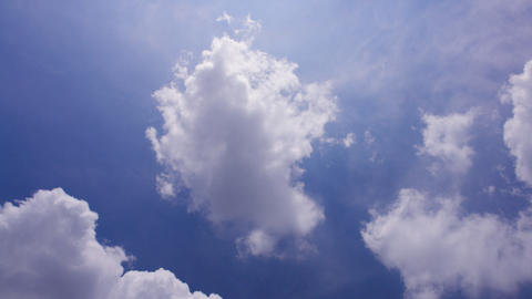 Sky Cloud 110807 A 2 HD Stock Video Footage