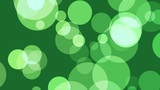 Green Defocused Circles stock footage