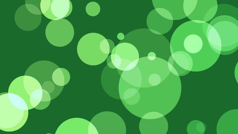 Green defocused circles Stock Video Footage