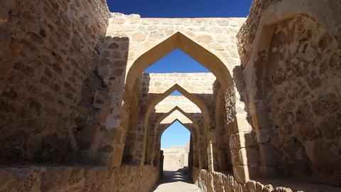 Qal'at al-Bahrain fort Footage