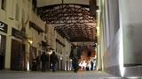 Arabic street market in bahrain Stock Video Footage