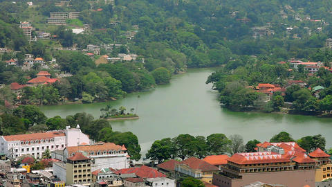 Kandy, Sri Lanka Footage