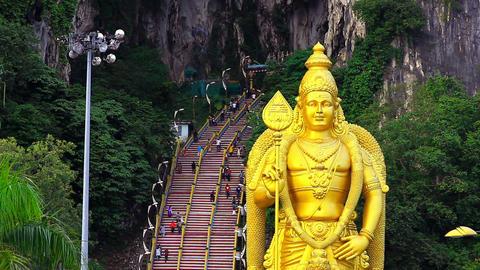 batu caves, kuala lumpur, malaysia Footage