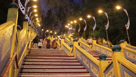 batu caves, kuala lumpur, malaysia Stock Video Footage