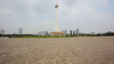 national monument, jakarta, indonesia Footage