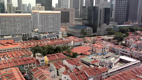 The Sri Mariamman Temple, China Town and the CBD, Singapore Live Action