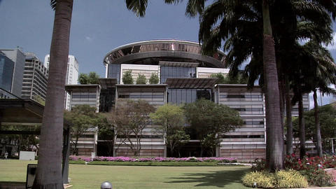 The new Singapore Supreme Court Building Live Action